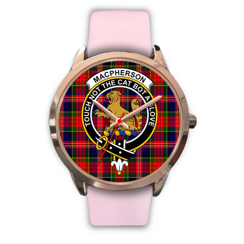 Image of MacPherson Modern, Silver Metal Mesh Watch,  leather steel watch, tartan watch, tartan watches, clan watch, scotland watch, merry christmas, cyber Monday, halloween, black Friday