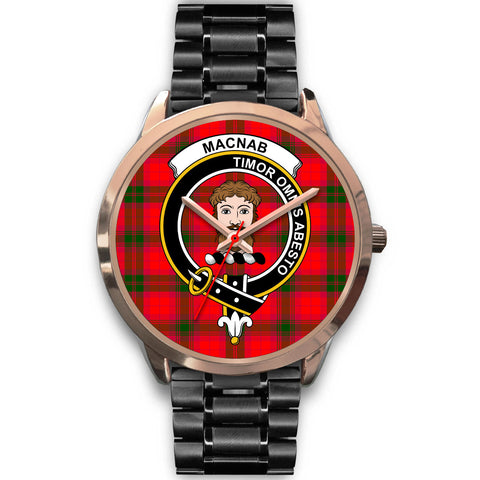 MacNab Modern, Rose Gold Metal Mesh Watch,  leather steel watch, tartan watch, tartan watches, clan watch, scotland watch, merry christmas, cyber Monday, halloween, black Friday