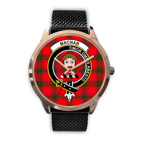 MacNab Modern, Silver Metal Link Watch,  leather steel watch, tartan watch, tartan watches, clan watch, scotland watch, merry christmas, cyber Monday, halloween, black Friday