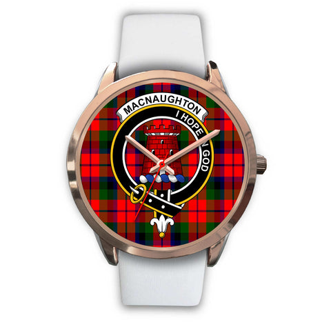 Image of MacNaughton Modern, Black Metal Link Watch,  leather steel watch, tartan watch, tartan watches, clan watch, scotland watch, merry christmas, cyber Monday, halloween, black Friday