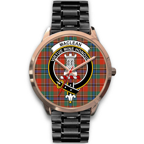 MacLean of Duart Ancient, Rose Gold Metal Mesh Watch,  leather steel watch, tartan watch, tartan watches, clan watch, scotland watch, merry christmas, cyber Monday, halloween, black Friday