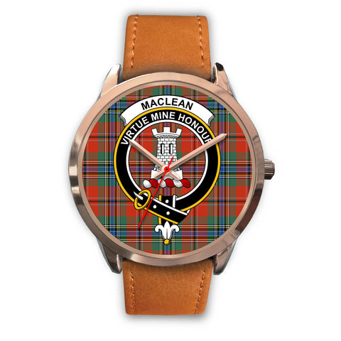 MacLean of Duart Ancient, Pink Leather Watch,  leather steel watch, tartan watch, tartan watches, clan watch, scotland watch, merry christmas, cyber Monday, halloween, black Friday