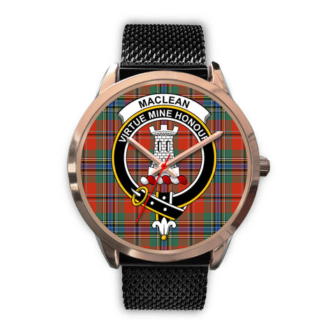 MacLean of Duart Ancient, Silver Metal Link Watch,  leather steel watch, tartan watch, tartan watches, clan watch, scotland watch, merry christmas, cyber Monday, halloween, black Friday
