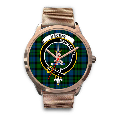 MacKay Modern, Black Leather Watch,  leather steel watch, tartan watch, tartan watches, clan watch, scotland watch, merry christmas, cyber Monday, halloween, black Friday