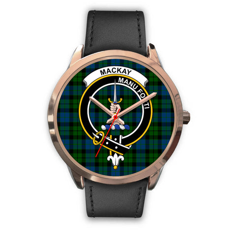 Image of MacKay Modern, Black Metal Mesh Watch,  leather steel watch, tartan watch, tartan watches, clan watch, scotland watch, merry christmas, cyber Monday, halloween, black Friday