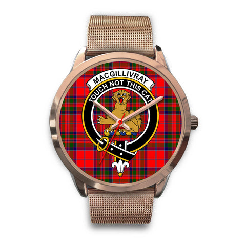 MacGillivray Modern, Black Leather Watch,  leather steel watch, tartan watch, tartan watches, clan watch, scotland watch, merry christmas, cyber Monday, halloween, black Friday