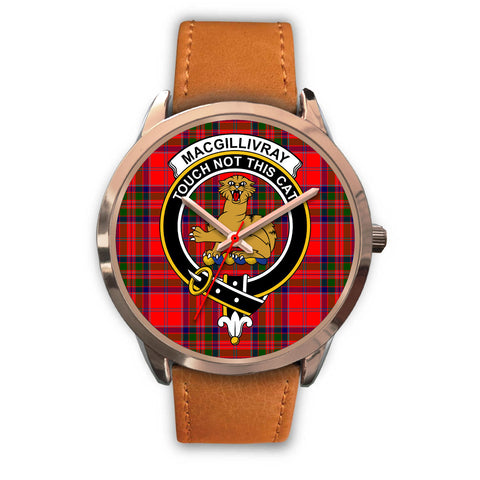 MacGillivray Modern, Pink Leather Watch,  leather steel watch, tartan watch, tartan watches, clan watch, scotland watch, merry christmas, cyber Monday, halloween, black Friday