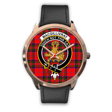 Image of MacGillivray Modern, Black Metal Mesh Watch,  leather steel watch, tartan watch, tartan watches, clan watch, scotland watch, merry christmas, cyber Monday, halloween, black Friday