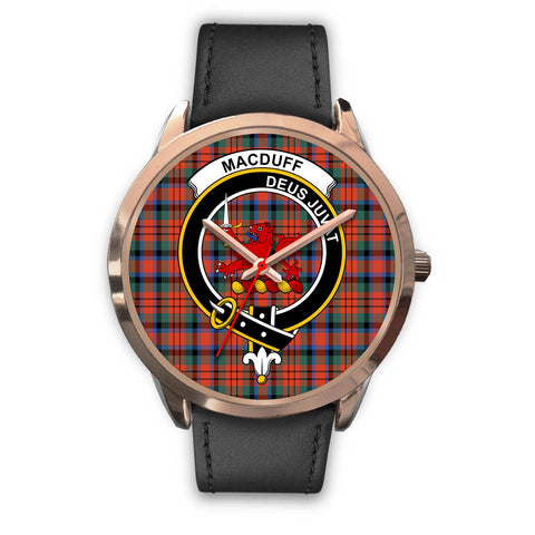 MacDuff Ancient, Black Metal Mesh Watch,  leather steel watch, tartan watch, tartan watches, clan watch, scotland watch, merry christmas, cyber Monday, halloween, black Friday
