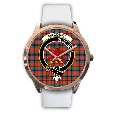 MacDuff Ancient, Black Metal Link Watch,  leather steel watch, tartan watch, tartan watches, clan watch, scotland watch, merry christmas, cyber Monday, halloween, black Friday