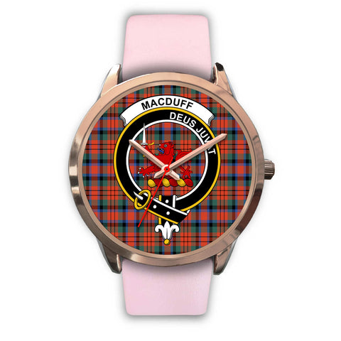 Image of MacDuff Ancient, Silver Metal Mesh Watch,  leather steel watch, tartan watch, tartan watches, clan watch, scotland watch, merry christmas, cyber Monday, halloween, black Friday