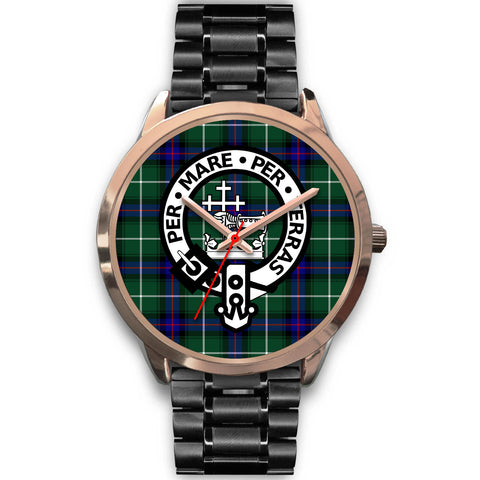 MacDonald of the Isles, Rose Gold Metal Mesh Watch,  leather steel watch, tartan watch, tartan watches, clan watch, scotland watch, merry christmas, cyber Monday, halloween, black Friday