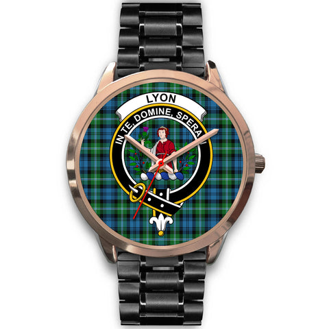 Lyon Clan, Rose Gold Metal Mesh Watch,  leather steel watch, tartan watch, tartan watches, clan watch, scotland watch, merry christmas, cyber Monday, halloween, black Friday