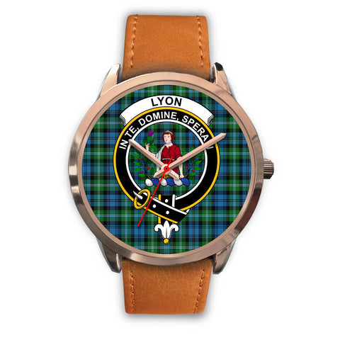 Lyon Clan, Pink Leather Watch,  leather steel watch, tartan watch, tartan watches, clan watch, scotland watch, merry christmas, cyber Monday, halloween, black Friday