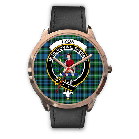 Lyon Clan, Black Metal Mesh Watch,  leather steel watch, tartan watch, tartan watches, clan watch, scotland watch, merry christmas, cyber Monday, halloween, black Friday