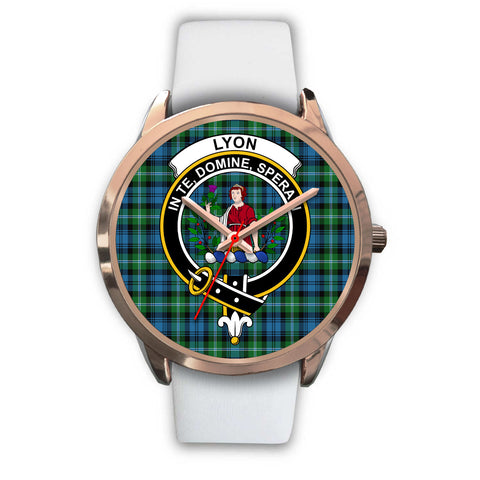 Lyon Clan, Black Metal Link Watch,  leather steel watch, tartan watch, tartan watches, clan watch, scotland watch, merry christmas, cyber Monday, halloween, black Friday
