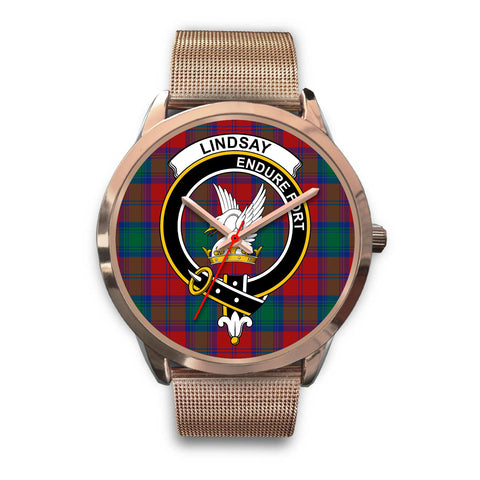 Lindsay Modern, Black Leather Watch,  leather steel watch, tartan watch, tartan watches, clan watch, scotland watch, merry christmas, cyber Monday, halloween, black Friday