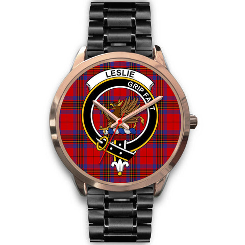 Image of Leslie Modern, Rose Gold Metal Mesh Watch,  leather steel watch, tartan watch, tartan watches, clan watch, scotland watch, merry christmas, cyber Monday, halloween, black Friday