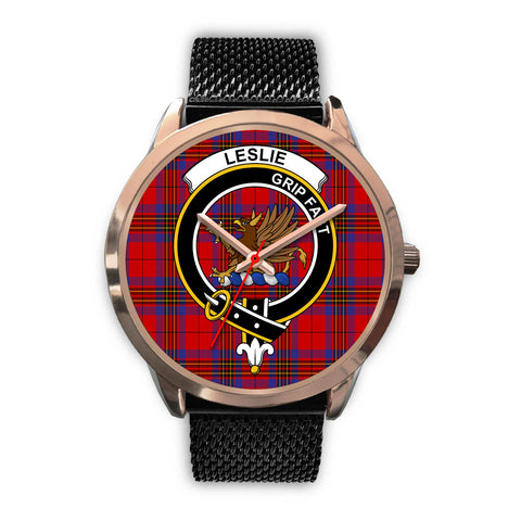 Leslie Modern, Silver Metal Link Watch,  leather steel watch, tartan watch, tartan watches, clan watch, scotland watch, merry christmas, cyber Monday, halloween, black Friday