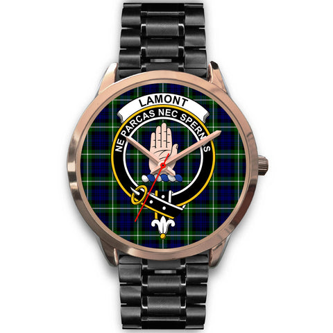 Image of Lamont Modern, Rose Gold Metal Mesh Watch,  leather steel watch, tartan watch, tartan watches, clan watch, scotland watch, merry christmas, cyber Monday, halloween, black Friday