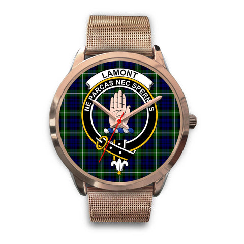 Lamont Modern, Black Leather Watch,  leather steel watch, tartan watch, tartan watches, clan watch, scotland watch, merry christmas, cyber Monday, halloween, black Friday