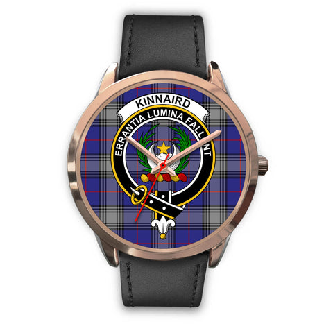 Image of Kinnaird, Black Metal Mesh Watch,  leather steel watch, tartan watch, tartan watches, clan watch, scotland watch, merry christmas, cyber Monday, halloween, black Friday