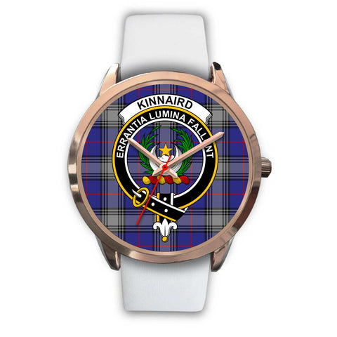 Image of Kinnaird, Black Metal Link Watch,  leather steel watch, tartan watch, tartan watches, clan watch, scotland watch, merry christmas, cyber Monday, halloween, black Friday