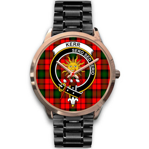 Kerr Modern, Rose Gold Metal Mesh Watch,  leather steel watch, tartan watch, tartan watches, clan watch, scotland watch, merry christmas, cyber Monday, halloween, black Friday