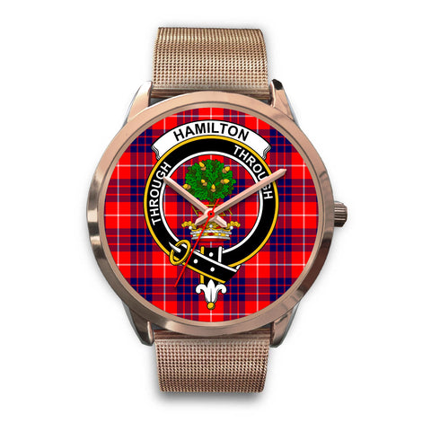 Hamilton Modern, Black Leather Watch,  leather steel watch, tartan watch, tartan watches, clan watch, scotland watch, merry christmas, cyber Monday, halloween, black Friday