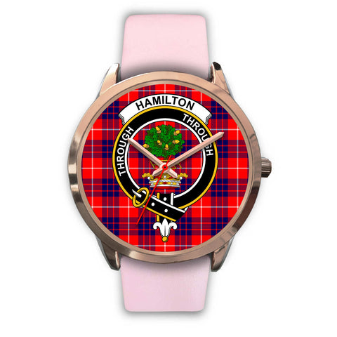 Image of Hamilton Modern, Silver Metal Mesh Watch,  leather steel watch, tartan watch, tartan watches, clan watch, scotland watch, merry christmas, cyber Monday, halloween, black Friday