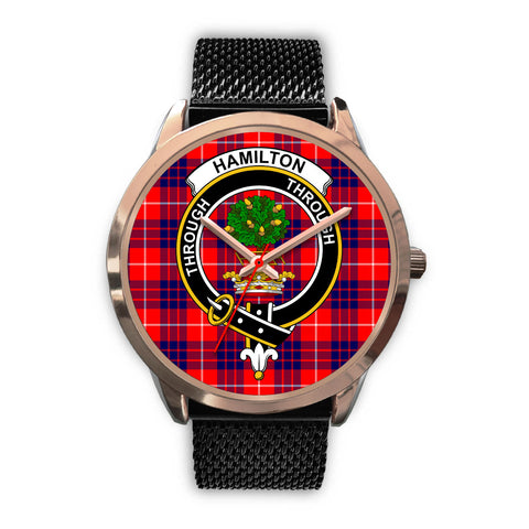 Hamilton Modern, Silver Metal Link Watch,  leather steel watch, tartan watch, tartan watches, clan watch, scotland watch, merry christmas, cyber Monday, halloween, black Friday