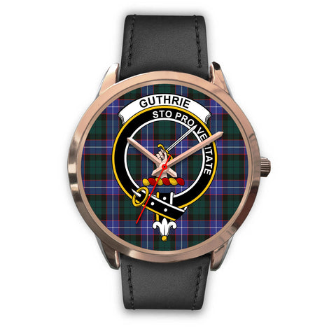Guthrie Modern, Black Metal Mesh Watch,  leather steel watch, tartan watch, tartan watches, clan watch, scotland watch, merry christmas, cyber Monday, halloween, black Friday