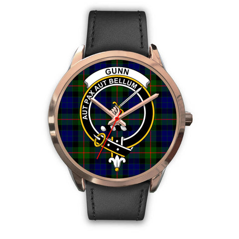 Image of Gunn Modern, Black Metal Mesh Watch,  leather steel watch, tartan watch, tartan watches, clan watch, scotland watch, merry christmas, cyber Monday, halloween, black Friday