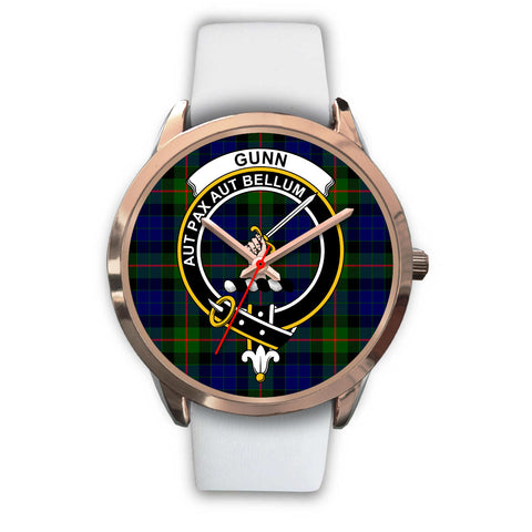 Image of Gunn Modern, Black Metal Link Watch,  leather steel watch, tartan watch, tartan watches, clan watch, scotland watch, merry christmas, cyber Monday, halloween, black Friday