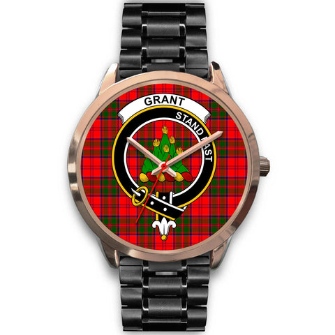 Grant Modern, Rose Gold Metal Mesh Watch,  leather steel watch, tartan watch, tartan watches, clan watch, scotland watch, merry christmas, cyber Monday, halloween, black Friday