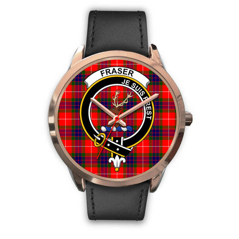 Fraser Modern, Black Metal Mesh Watch,  leather steel watch, tartan watch, tartan watches, clan watch, scotland watch, merry christmas, cyber Monday, halloween, black Friday