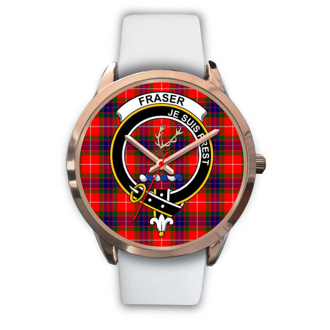 Fraser Modern, Black Metal Link Watch,  leather steel watch, tartan watch, tartan watches, clan watch, scotland watch, merry christmas, cyber Monday, halloween, black Friday