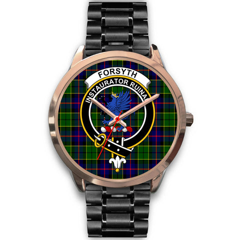 Forsyth Modern, Rose Gold Metal Mesh Watch,  leather steel watch, tartan watch, tartan watches, clan watch, scotland watch, merry christmas, cyber Monday, halloween, black Friday