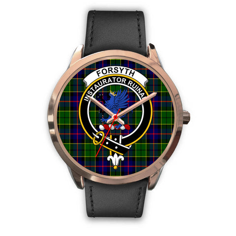 Forsyth Modern, Black Metal Mesh Watch,  leather steel watch, tartan watch, tartan watches, clan watch, scotland watch, merry christmas, cyber Monday, halloween, black Friday