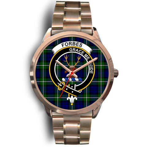 Forbes Modern, Rose Gold Metal Link Watch,  leather steel watch, tartan watch, tartan watches, clan watch, scotland watch, merry christmas, cyber Monday, halloween, black Friday