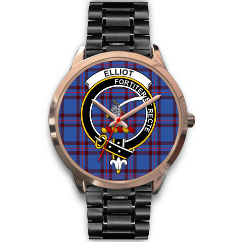 Image of Elliot Modern, Rose Gold Metal Mesh Watch,  leather steel watch, tartan watch, tartan watches, clan watch, scotland watch, merry christmas, cyber Monday, halloween, black Friday