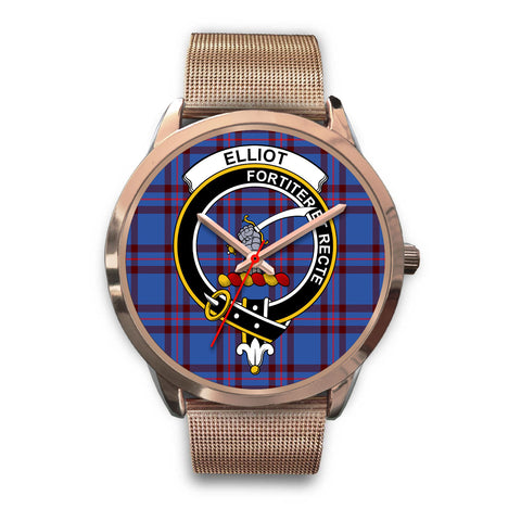 Elliot Modern, Black Leather Watch,  leather steel watch, tartan watch, tartan watches, clan watch, scotland watch, merry christmas, cyber Monday, halloween, black Friday