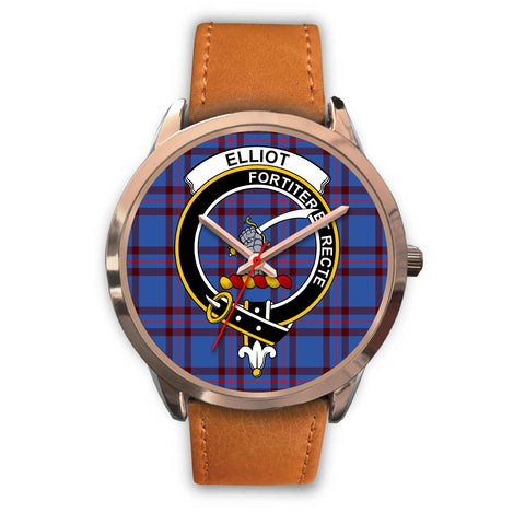 Elliot Modern, Pink Leather Watch,  leather steel watch, tartan watch, tartan watches, clan watch, scotland watch, merry christmas, cyber Monday, halloween, black Friday