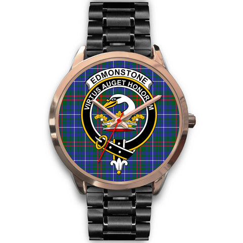 Edmonstone, Rose Gold Metal Mesh Watch,  leather steel watch, tartan watch, tartan watches, clan watch, scotland watch, merry christmas, cyber Monday, halloween, black Friday