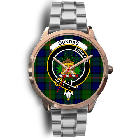 Dundas Modern, Brown Leather Watch,  leather steel watch, tartan watch, tartan watches, clan watch, scotland watch, merry christmas, cyber Monday, halloween, black Friday