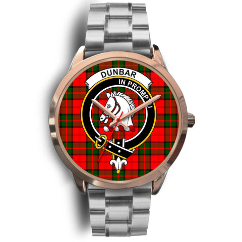 Dunbar Modern, Brown Leather Watch,  leather steel watch, tartan watch, tartan watches, clan watch, scotland watch, merry christmas, cyber Monday, halloween, black Friday