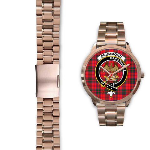 Drummond Modern, Black Leather Watch,  leather steel watch, tartan watch, tartan watches, clan watch, scotland watch, merry christmas, cyber Monday, halloween, black Friday