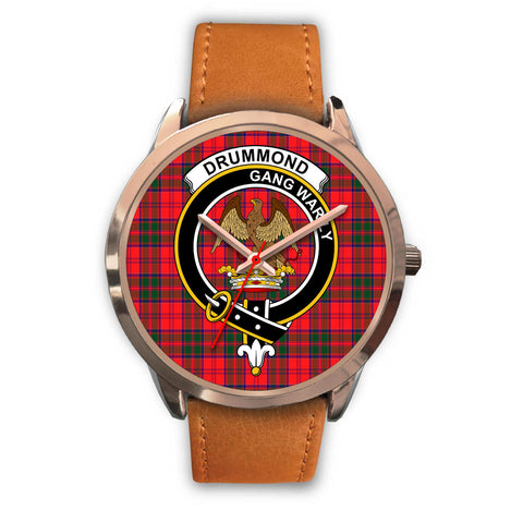 Drummond Modern, Pink Leather Watch,  leather steel watch, tartan watch, tartan watches, clan watch, scotland watch, merry christmas, cyber Monday, halloween, black Friday