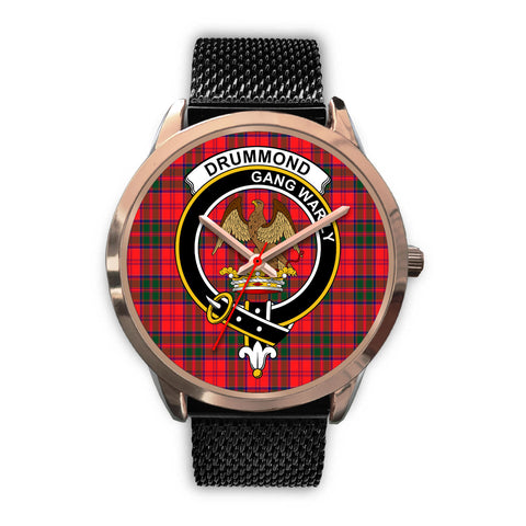 Drummond Modern, Silver Metal Link Watch,  leather steel watch, tartan watch, tartan watches, clan watch, scotland watch, merry christmas, cyber Monday, halloween, black Friday