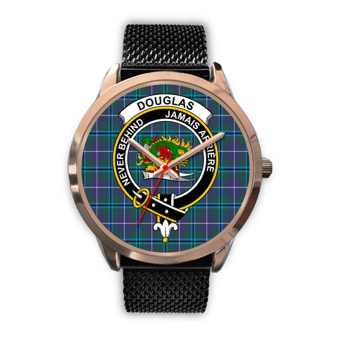 Douglas Modern, Silver Metal Link Watch,  leather steel watch, tartan watch, tartan watches, clan watch, scotland watch, merry christmas, cyber Monday, halloween, black Friday